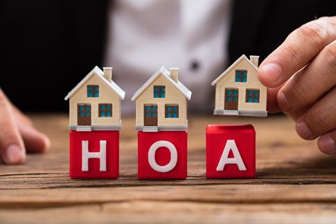 HOA with three home blocks
